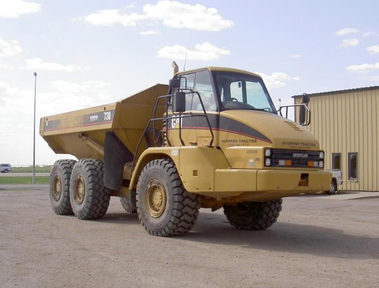 2005 Caterpillar 730 Off-Road Truck Picture