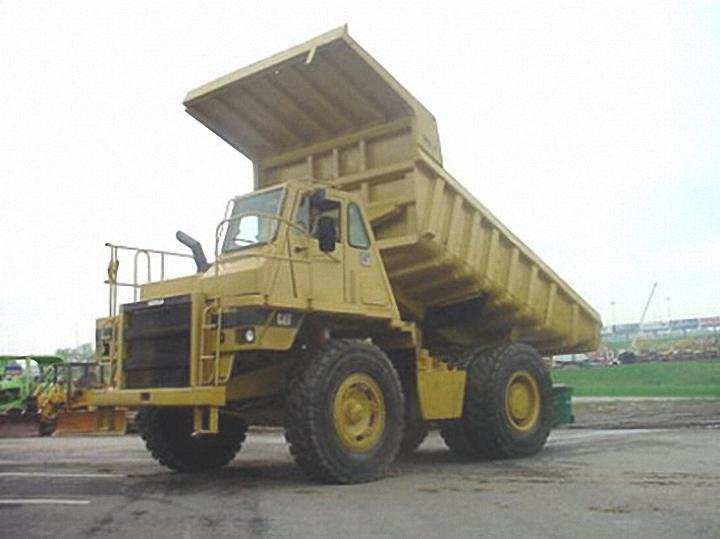 1988 Caterpillar 769C Truck Picture