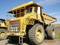1986 Caterpillar 777B Truck Picture