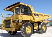 2000 Caterpillar 769D Truck Picture