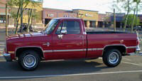 Left Side 1987 Chevrolet Silverado Truck Picture
