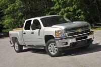 Front Right 2011 Chevrolet Silverado Truck Picture