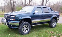 Front Left Chevrolet Avalanch Truck Picture