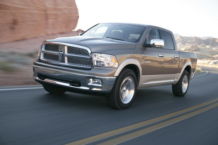 Front Left 2009 Dodge Ram 1500 Truck Picture