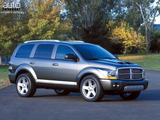 Dodge Durango 2003 Black. Blue 2003 Dodge Durango RT