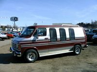 Left Side 1990 Dodge Ram Van Picture