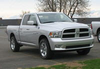 Front Right 2009 Dodge Ram 1500 Truck Picture