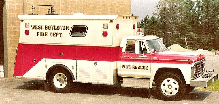 1974 Ford Fire Rescue Truck Picture