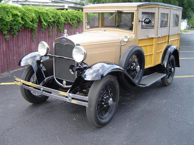 1930 Ford Model A Wagon Picture