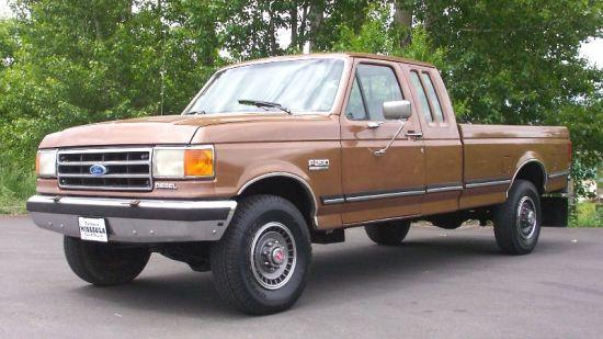 1990 Ford F-250 Truck Picture