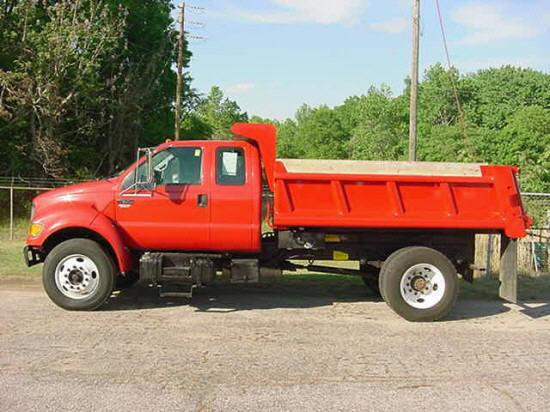 2000 Ford F650 Truck Picture