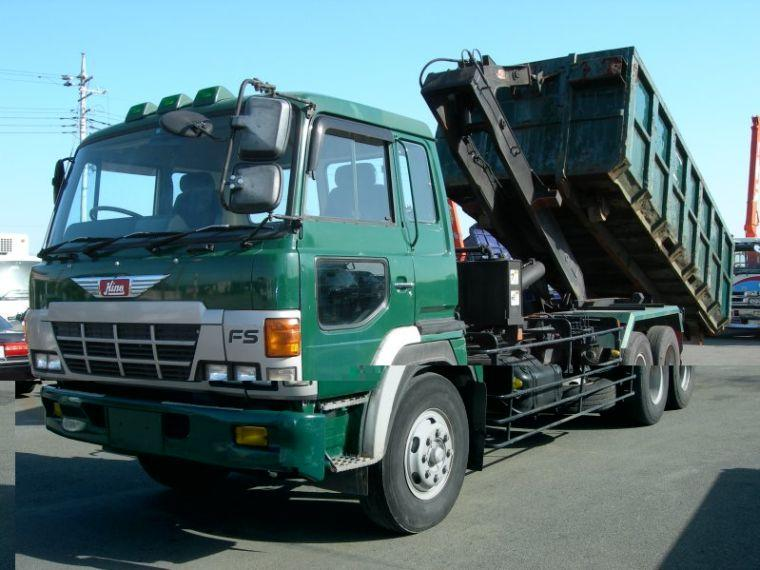 1990 Hino Dump-Arm Roll Truck Picture