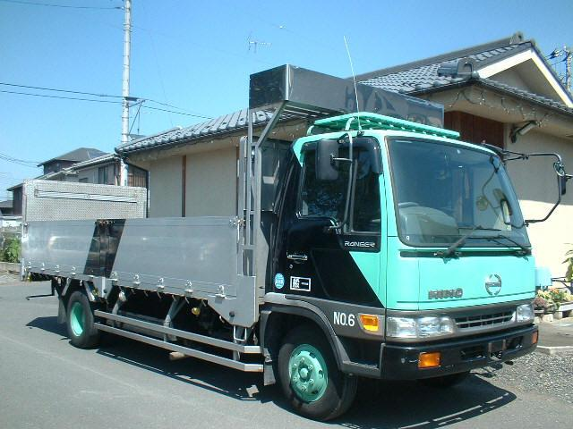 1996 Hino Ranger Refrigerator Truck Picture