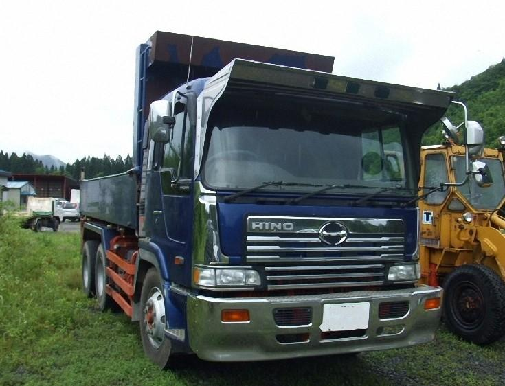 Front Right Blue 1997 Hino Profia Truck Picture