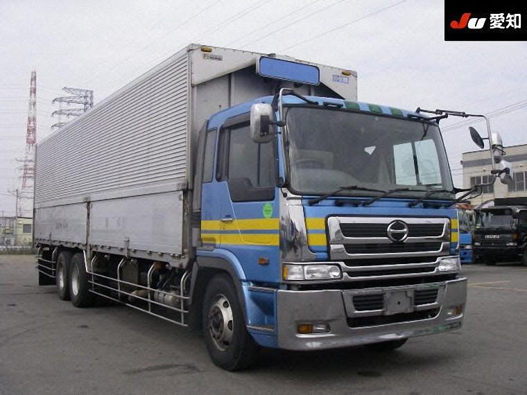 Front Right 1999 Hino Profia Truck Picture
