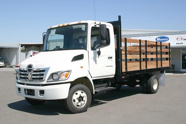 2008 Hino 145 Stake Truck Picture