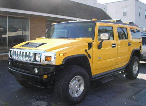 2004 Hummer H2 Truck Picture