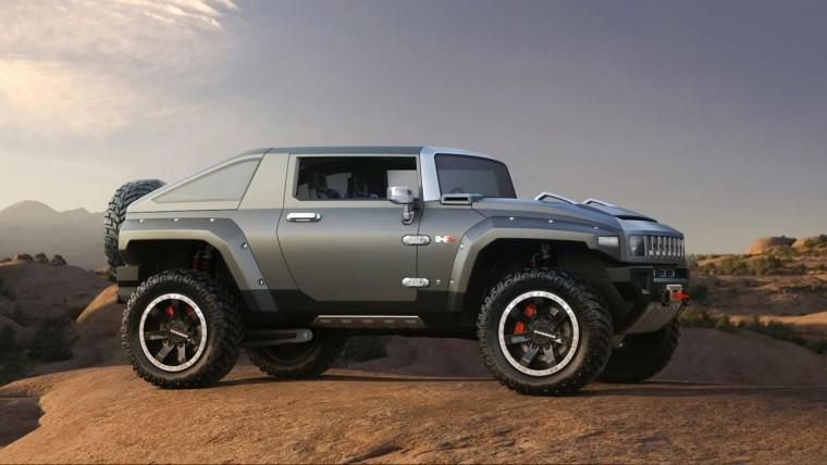Hummer HX Concept Truck Picture