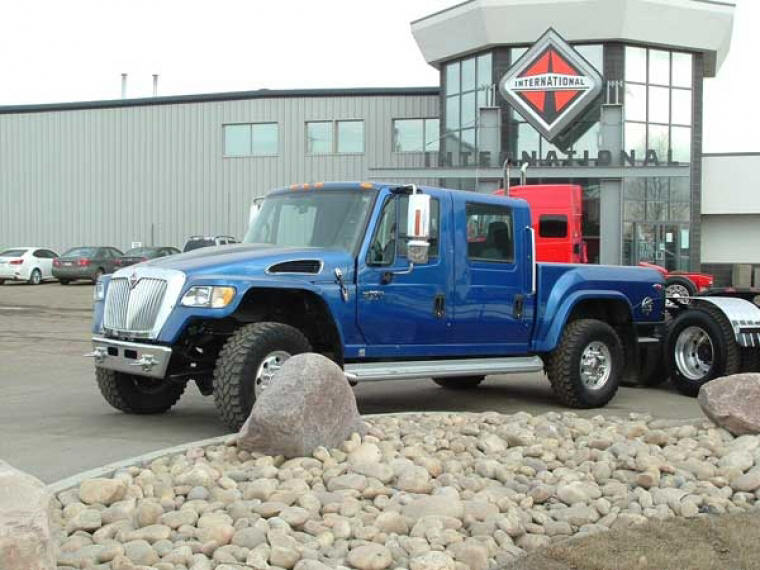 International Cxt Price >> 2008 Blue International MXT 743 Truck Picture | Truck Photos