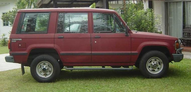 Right Side 1989 Isuzu Trooper SUV Picture