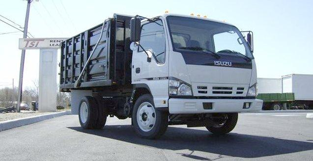 Front right 2007 Isuzu NRR Truck Picture