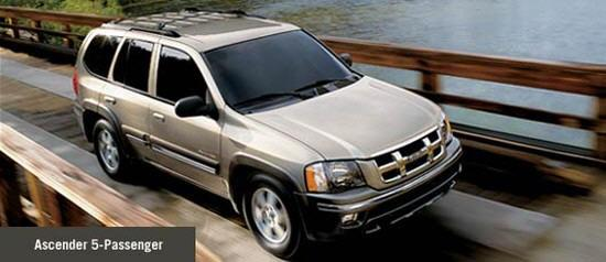 Front Right Gray Isuzu Ascender 5 Truck Picture