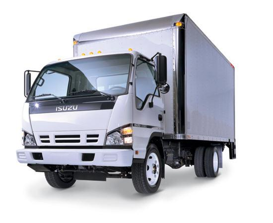 Isuzu Delivery Truck Picture