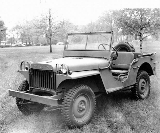 Front Left 1941 Jeep Willys MA Truck Picture