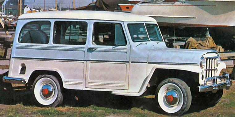 1962 Willys Jeep Traveler Station Wagon Picture