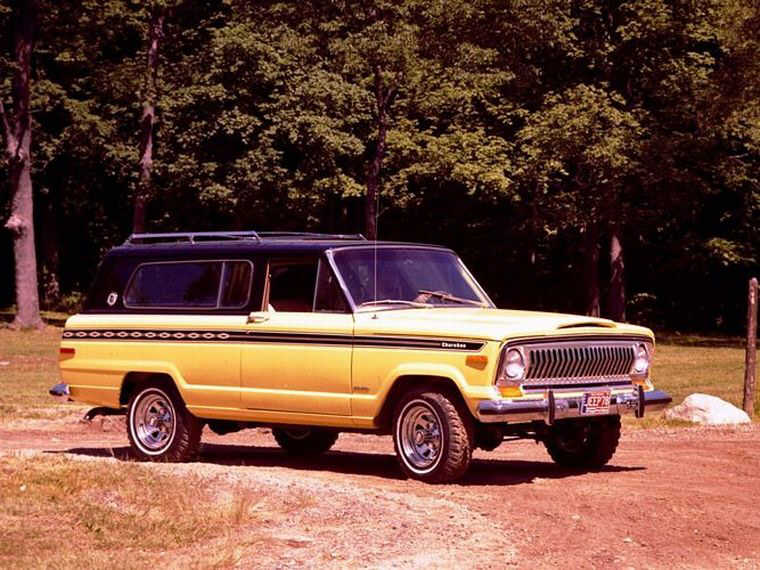 1978 Jeep Cherokee Truck Picture