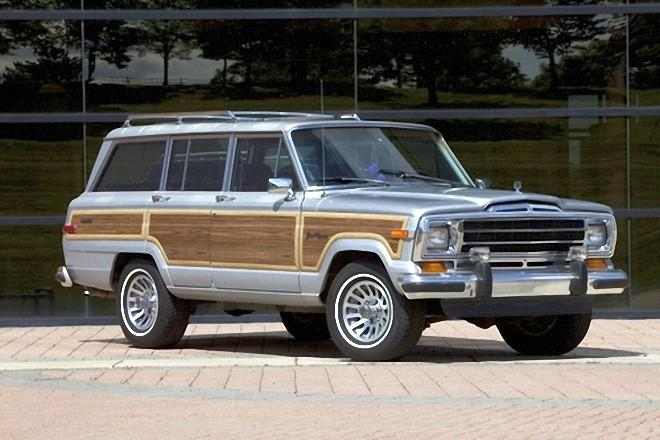 Front Right 1989 Grand Wagoneer Truck Picture