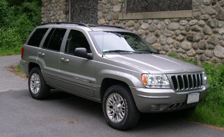 front right gray 2002 jeep grand cherokee suv picture. Cars Review. Best American Auto & Cars Review