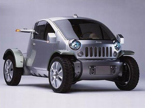 2003 Jeep Treo Concept Truck Picture