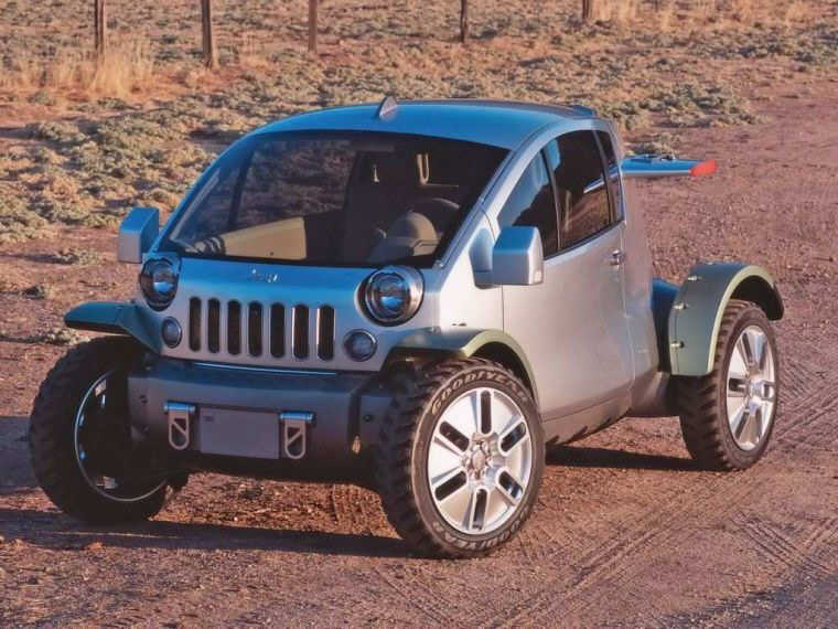 2003 Jeep Treo Concept Car Picture