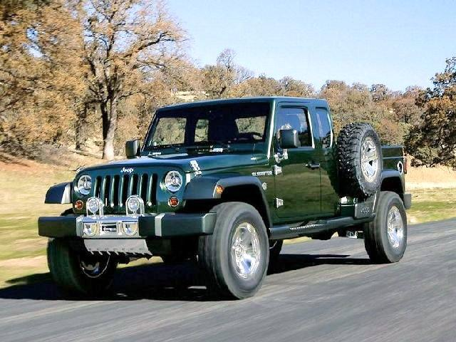 2005 Jeep Gladiator Concept Truck Picture