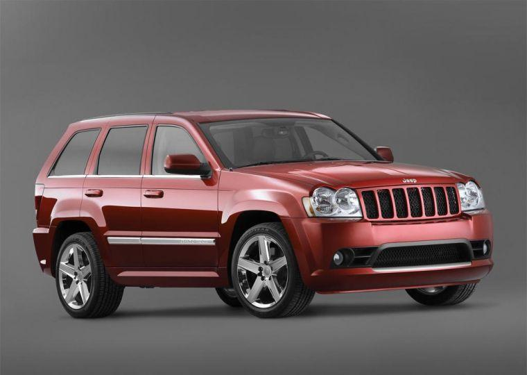 right front red 2005 jeep grand cherokee photo old trucks. Black Bedroom Furniture Sets. Home Design Ideas