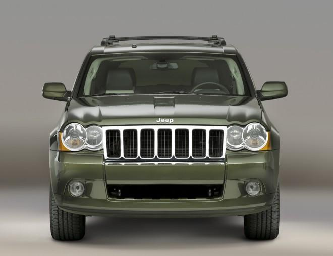 Front View 2008 Grand Cherokee Truck Picture