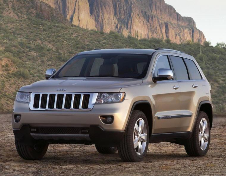 Front Left 2011 Jeep Grand Cherokee Concept Truck Picture