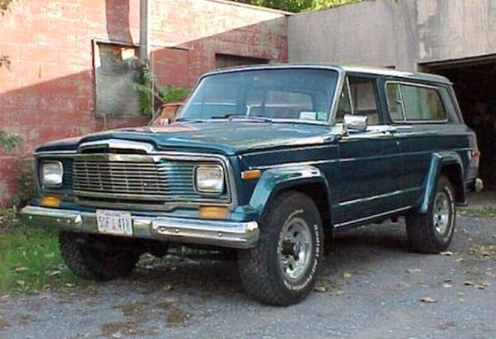 1987 Jeep Cherokee Truck Picture