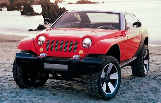 Jeep Jeepster Concept Car