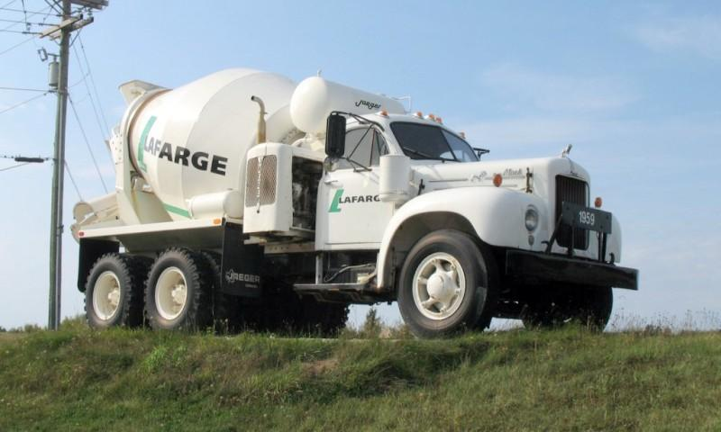 1959 Mack B42 Cement Mixer Truck Picture