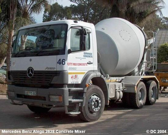 Mercedes-Benz Atego Mixer Truck Picture