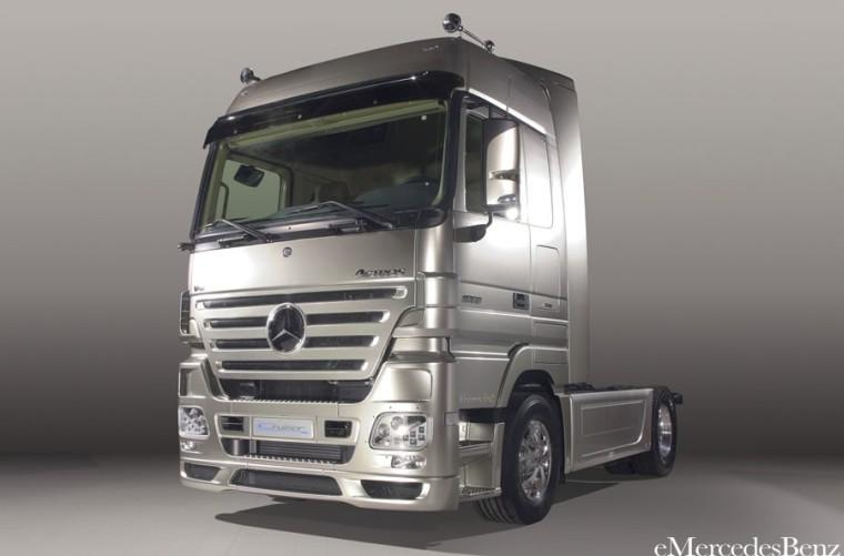 Mercedes-Benz Actros Cruiser 1860LS Concept Truck Picture