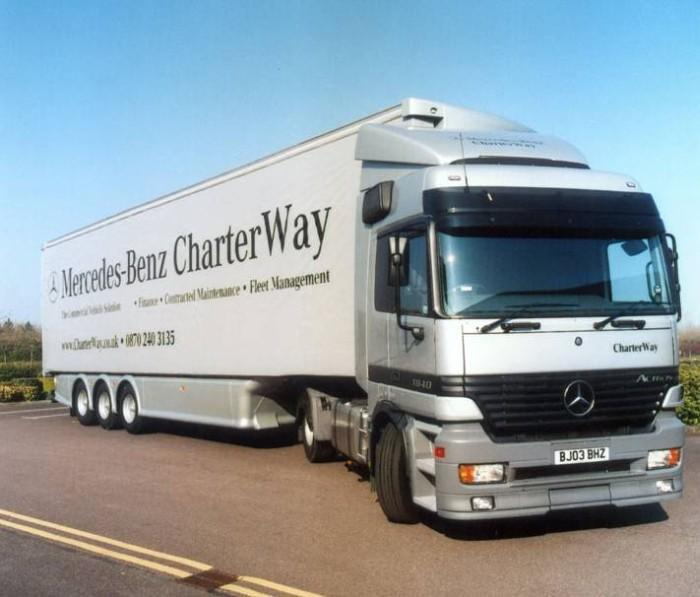 Mercedes-Benz Charter Way Truck Picture