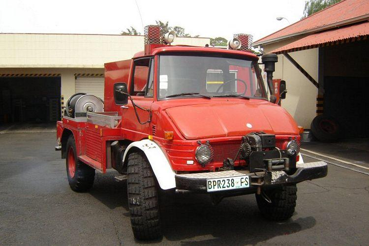 1986 Mercedes-Benz Grass Fire Truck