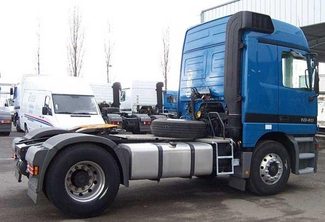 2001 Mercedes-Benz Actros 1840 Truck Picture