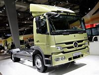Front Right 2011 Mercedes-Benz Atego Truck Picture