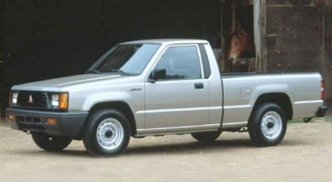 1996 Mitsubishi Mighty Max Pickup Truck Picture