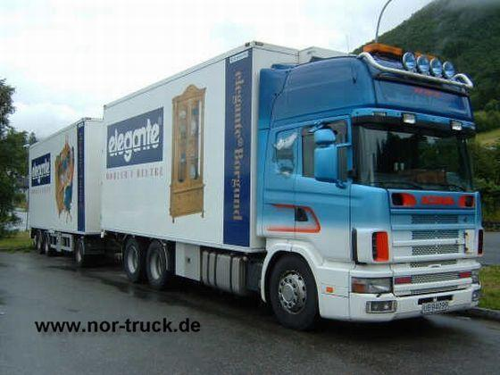Scania 144TL Truck Picture