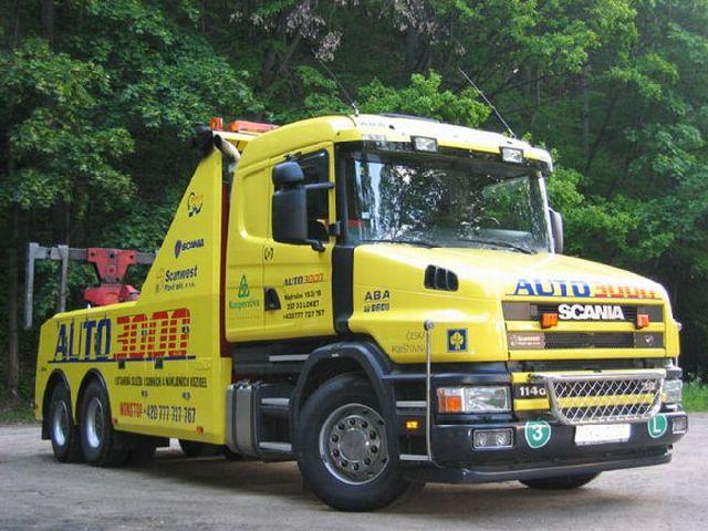 Scania 114G44 Tow Truck Picture